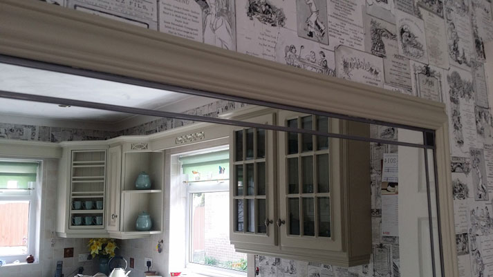 stapleford kitchen finished mirror