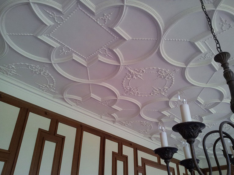 painting a period home ceiling
