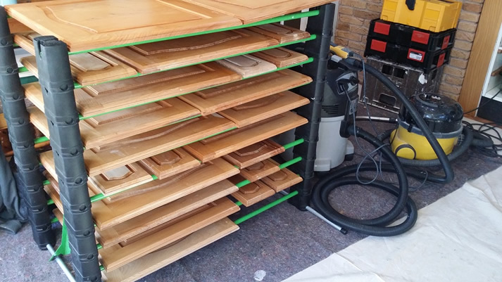 Erecta-Rack fully loaded