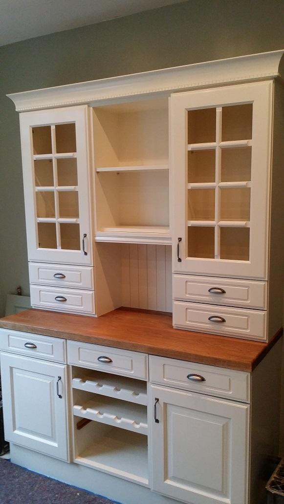 hand painted kitchen cabinets in woodthorpe nottingham. Black Bedroom Furniture Sets. Home Design Ideas