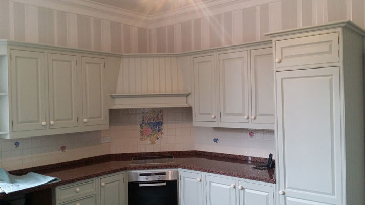 Hand painted kitchen in Stanton by Bridge