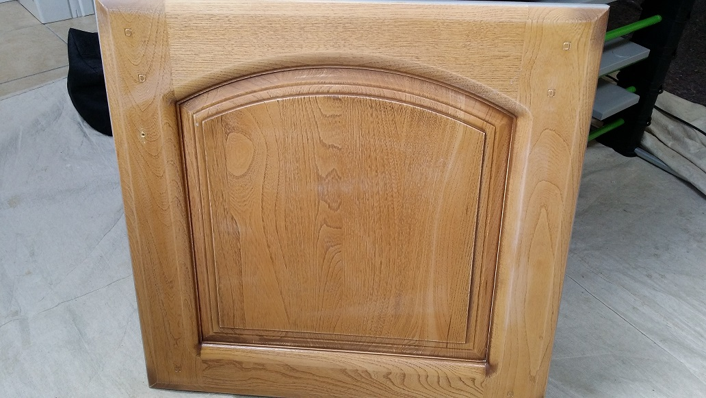 Hand Painting Kitchen Cabinet Doors In Chilwell Nottinghamhand