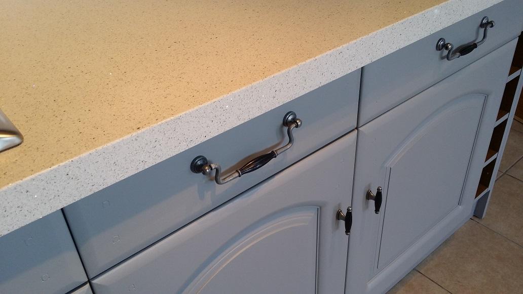 Handles for kitchen doors