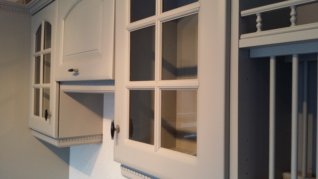 Hand painted kitches in Nottingham