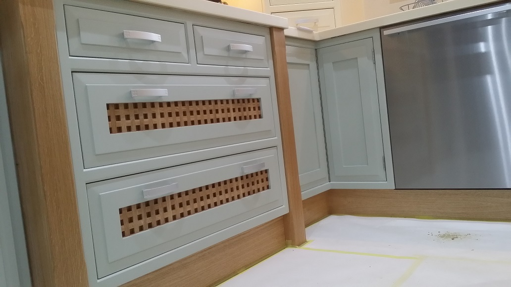 Painting kitchen cabinets in Derby