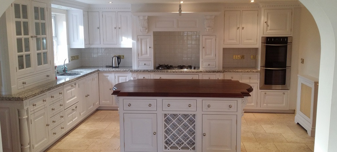 Repainting A Clive Christian Kitchen In Nottingham Russ Pike Interiors