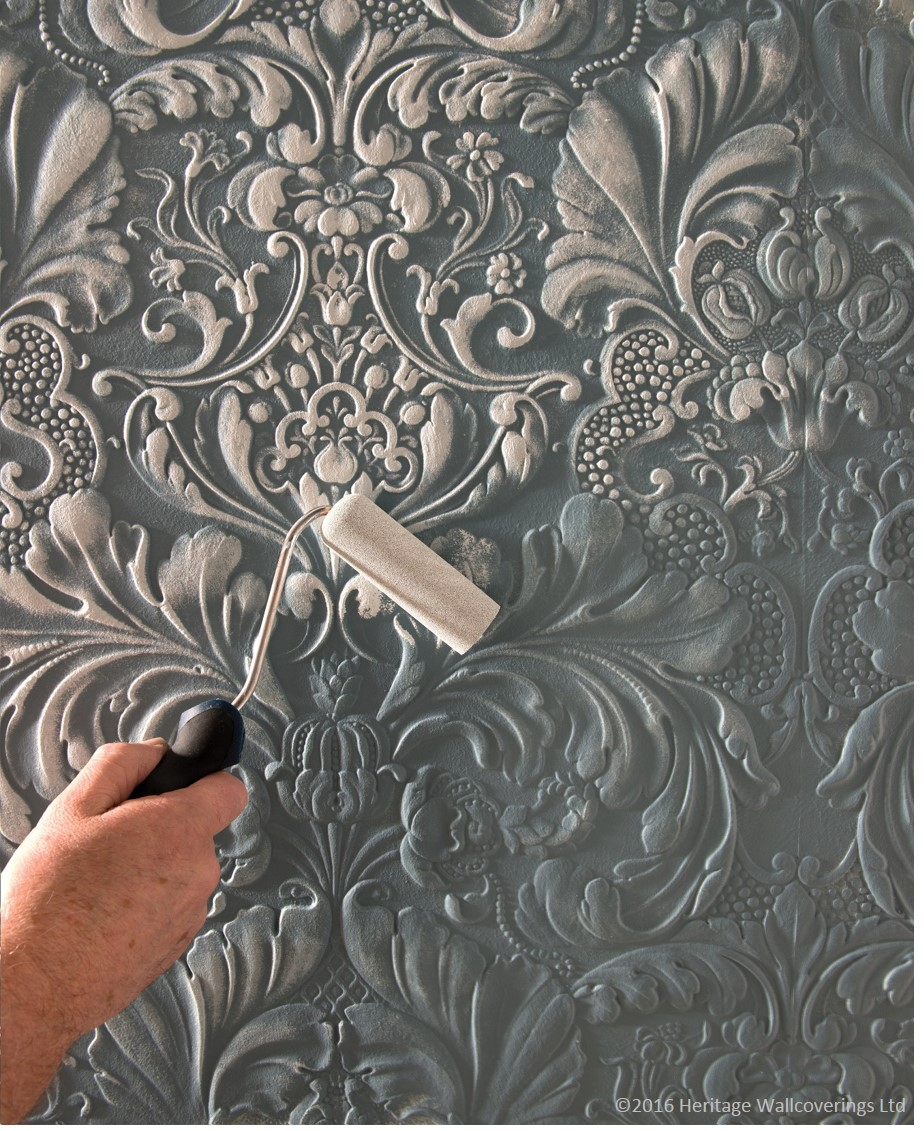 Paintable Wallpaper Kitchen: Hand Painted Kitchens, Furniture And
