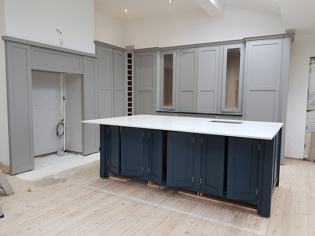 hand made kitchen, kitchen painter yorkshire
