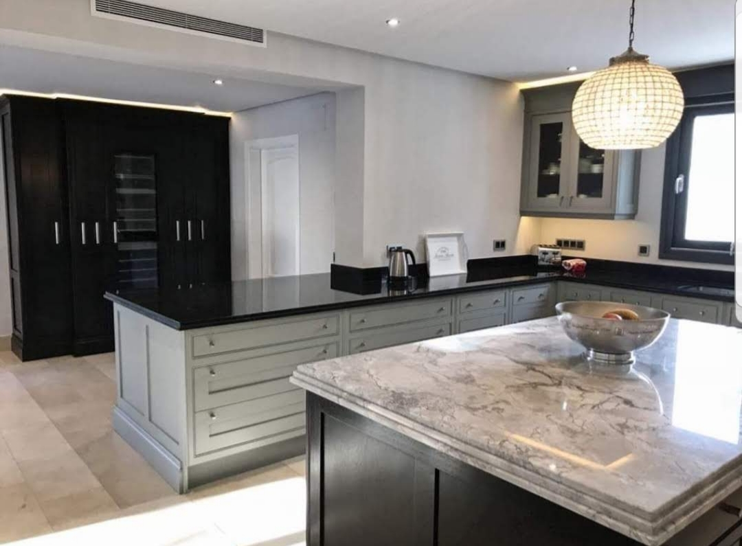 The Painted Kitchen Malaga, Hand Painted Kitchen Nottingham, Russ Pike Interiors