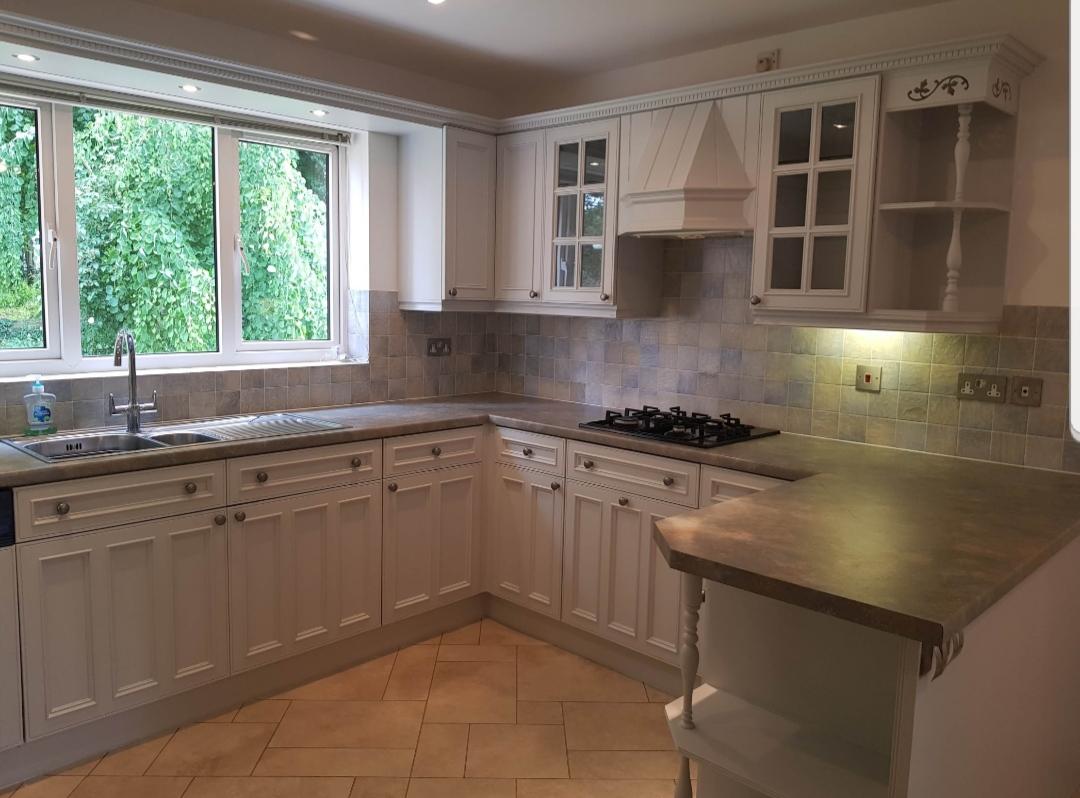 kitchen painter derbyshire