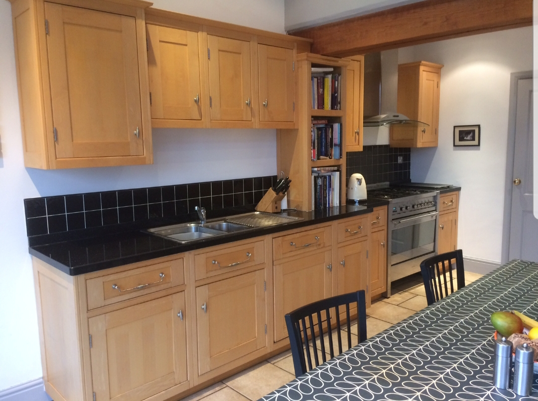 painting wooden kitchen cabinets Derbyshire