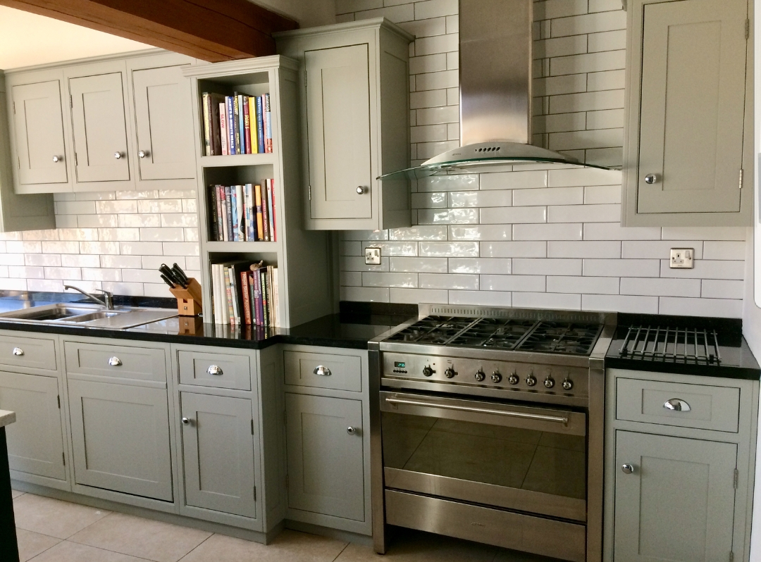 hand painted kitchen Derbyshire