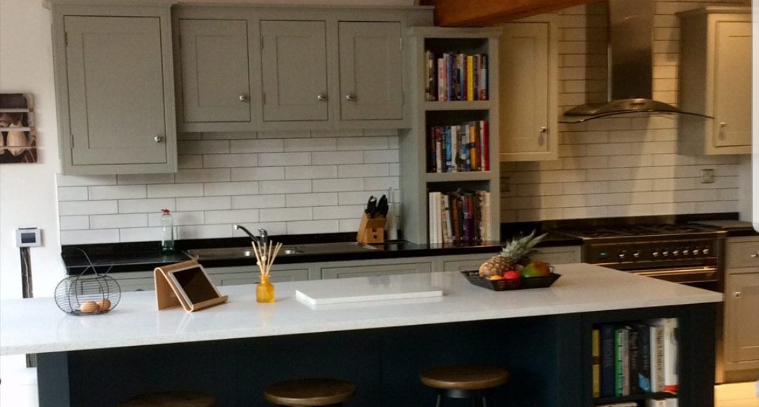 Hand painted kitchen Derby