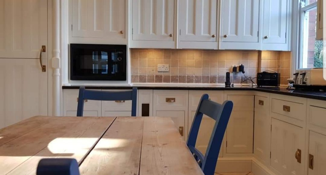 hand painted kitchen Nottingham