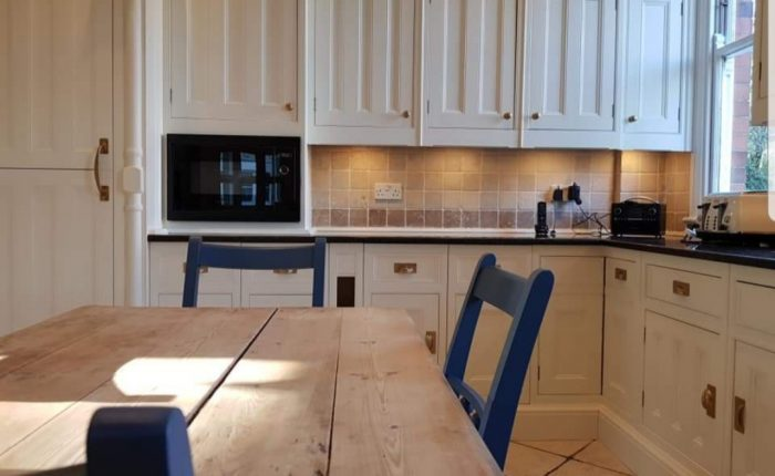 hand painted kitchen Nottingham