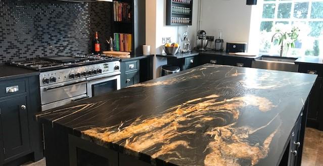 Black Painted kitchen