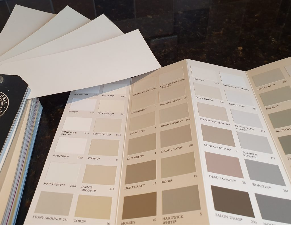Choosing colour for kitchens