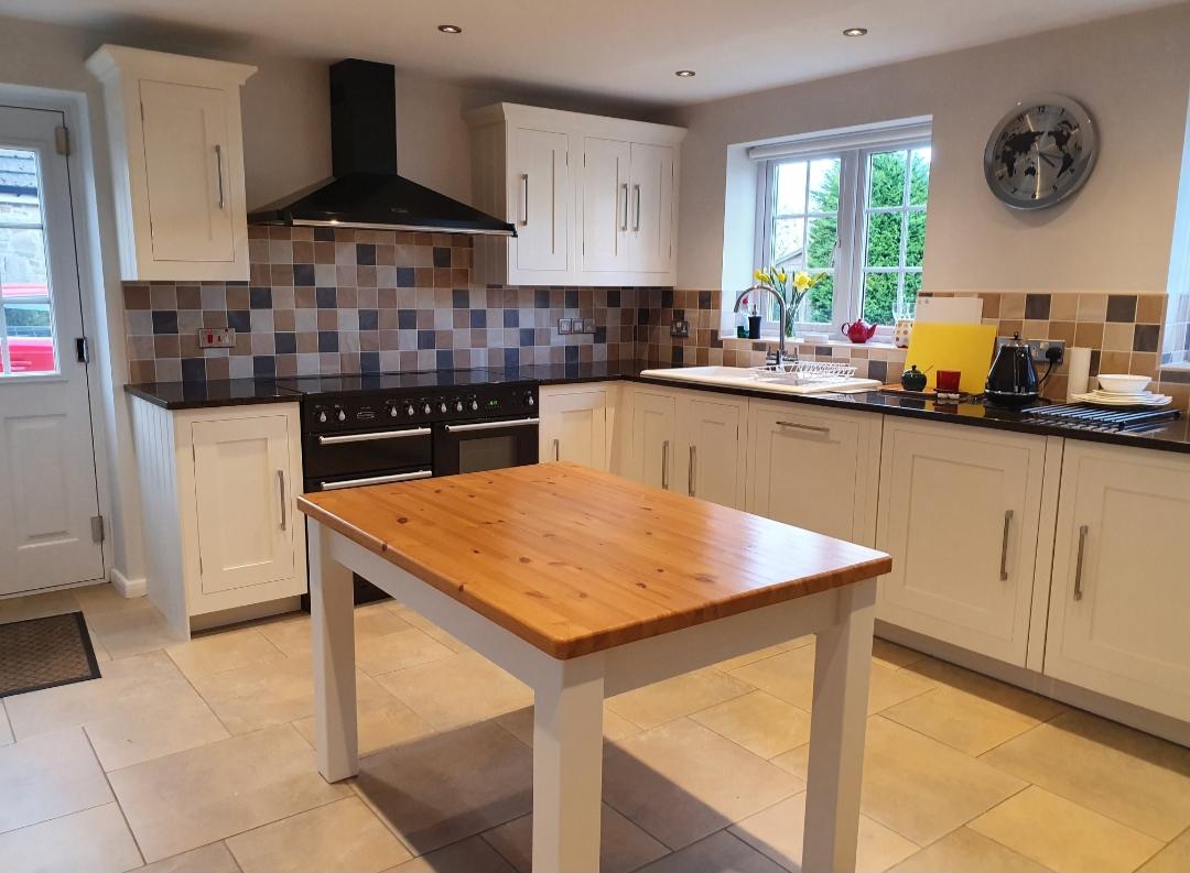 Harvey Jones Painted Kitchen Nottingham